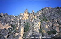 Rugged landscape of La Mancha region[La Mancha - Spain]