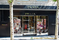 The distinctive name of Prada