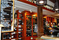 Bodega wine bar has a great selection of wines