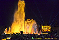 Montjuic Magic Fountain - Barcelona