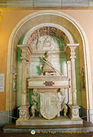 Tomb of Don Juan Aragon, Prince of the Royal House of Catalonia