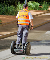 Security guards on their segway