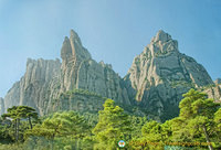 View of the Montserrat mountain range