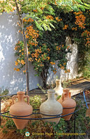 Olive oil jars used in past