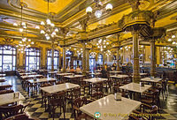 Pamplona's Cafe Iruña is in the class of the Grand Cafes