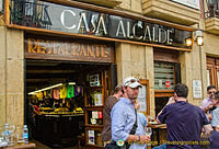 Casa Alcalde Restaurante at no. 19 Calle Mayor