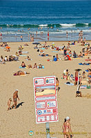 Rules of Sardinero beach