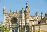 West facade of the Seville Cathedral