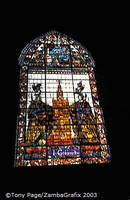 Seville Cathedral - Stained glass window