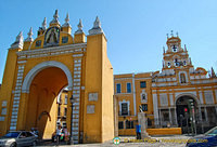 Macarena gate and Basilica