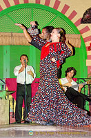 Star flamenco dancers