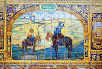 Tile panel representing Ciudad Real
