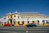 Plaza de Toros is one of Seville's most popular attractions
