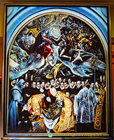 The Burial of the Count of Orgaz by El Greco