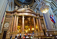Basilica del Pilar: Built of marble, jasper and gilt, this temple houses the shrine of El Pilar