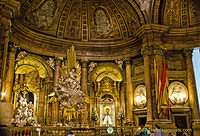 Basilica del Pilar:  The Richly Decorated Holy Chapel