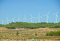 Windmills near Zaragoza
