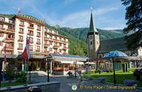 Grand Hotel Zermatterhof - A 5-star hotel in the centre of Zermatt with views of the Matterhorn