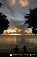 View from our hut verandah