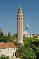 This 13th century fluted minaret is the symbol of Antalya