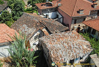 Interesting old and new rooftops in Kaleici
