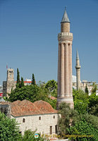 Fluted Minaret or Yivli Minare