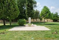 Memorial to Prof. Kenan T Erim who excavated Aphrodisias until his death in 1990.