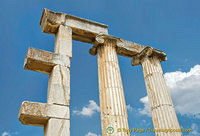 Columns of the Temple of Aphrodite