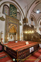 View towards the mihrab