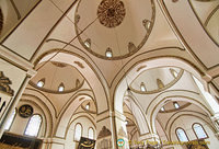 Arches, domes and decoration in Bursa Ulu Camii
