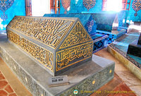 Mehmed I's family sarcophagus