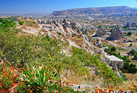 Beautiful colours of Göreme Valley