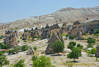 A colony of fairy chimneys
