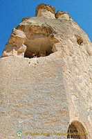 The early inhabitants of Cappadocia believed that fairies lived in these formations, hence the name