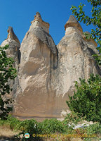 Huge fairy chimneys