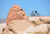 Bike posing for a shot at Rose Valley