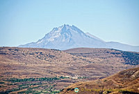 Erciyes Dağı or Mount Argus is the highest mountain in Central Anatolia