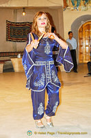 Anatolian folk dancer