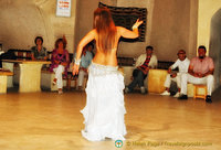 The traditional Turkish belly dance