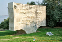 Chunuk Bair - monument honouring the 28,000 men who died here in 1915
