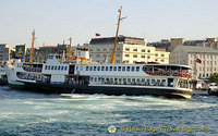 Waterfront and Galata Bridge, Golden Horn, Istanbul, Turkey