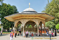 Fountain (Şadırvan) for ritual ablutions