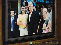Bill Clinton and a young Mr. Colpan
