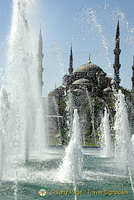 Around Sultan Ahmet, the Blue Mosque and Hagia Sofia, Istanbul, Turkey
