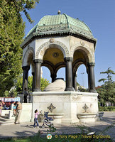 Fountain of Kaiser Wilhelm II - the dome was gifted by Wilhem II in 1898