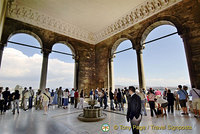 Topkapi Palace viewing gallery