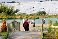 Tourism is the major industry in Pamukkale