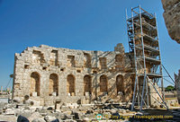 Reconstruction at Perge