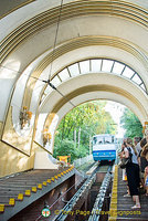 Funicular railway from the port to Kyiv (Kiev) city