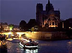 Dinner cruises on the Seine